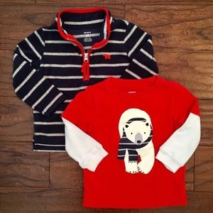 Carter's Toddler Boy Two Piece Fall/Winter Set